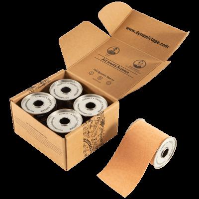 Біомеханічний тейп Dynamic Tape 7,5см х 5м мікс кольорів 4 рола в наборі