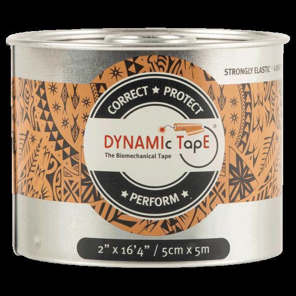 Dynamic Tape з чорним принтом  (5см. х 5м.)