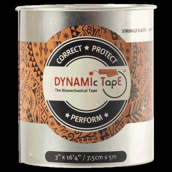 Dynamic Tape з чорним принтом  (7.5см. х 5м.)
